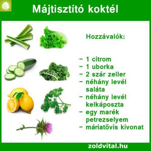 máj méregtelenítő receptek