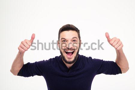 izgatott emberekkel